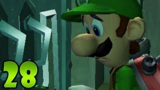 Luigi's Mansion: Dark Moon - Part 28 - Treacherous Mansion: E-1 Front-Door Key