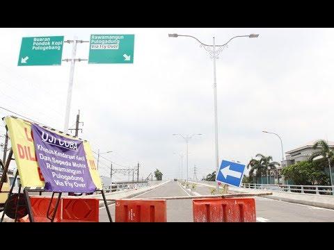 Flyover Cipinang Lontar Diujicoba, Kemacetan Berkurang 40 Persen Mp3
