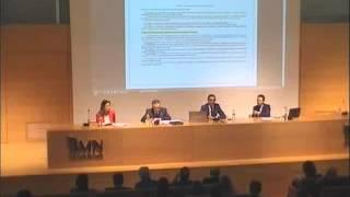 """Jornadas """"El Nuevo marco de reclamaciones por accidentes de tráfico"""" 20/01/2016 parte I"""