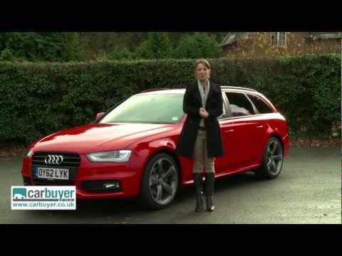Audi A4 Avant estate review Carbuyer