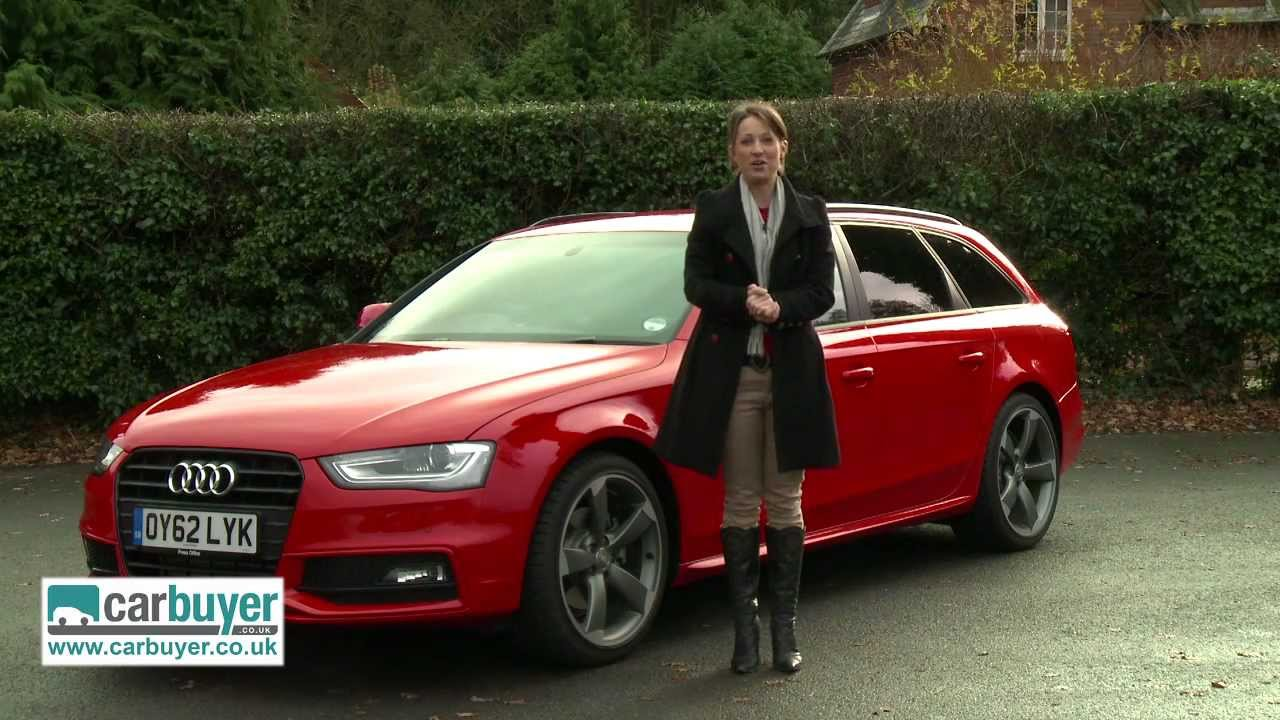 Audi A4 Avant Estate Review Carbuyer Youtube