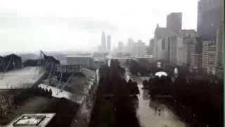 Winter visits Millennium Park