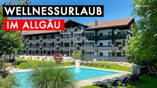 WELLNESSURLAUB IM ALLGÄU / GOLF & ALPIN WELLNESS RESORT HOTEL LUDWIG ROYAL / URLAUB 2021