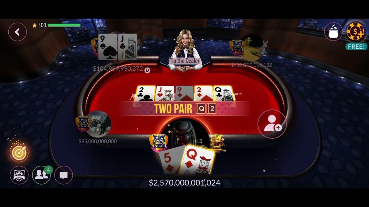 All In 1 Trilion Zynga Poker Kenz Youtube