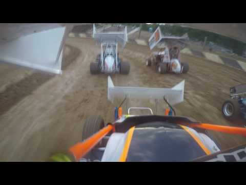 path valley speedway 9-3-16 ACMS heat race 600 micro