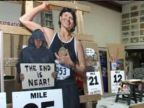 Big Sur Marathon Gets Artistic Flair