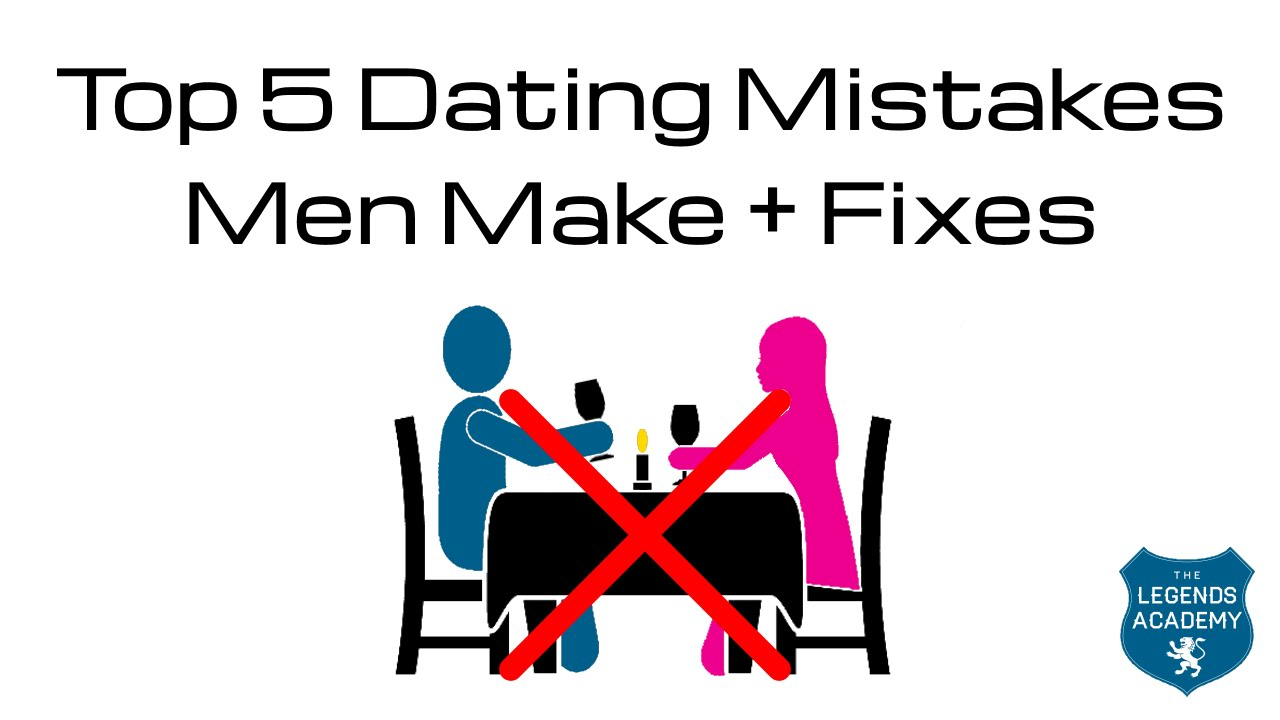 How to fix dating mistakes