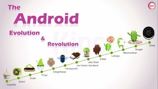 The Android Evolution & Revolution : From Cupcake to Oreo
