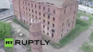 Russia: Drone Captures Mill Untouched Since Battle Of Stalingrad