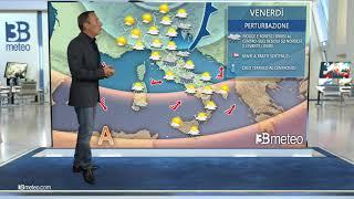 Torna un po' di autunno con nuvole e piogge tra giovedì e sabato