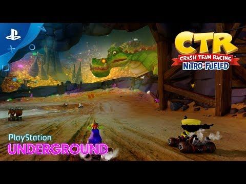 لقطات لعب للعبة Crash Team Racing