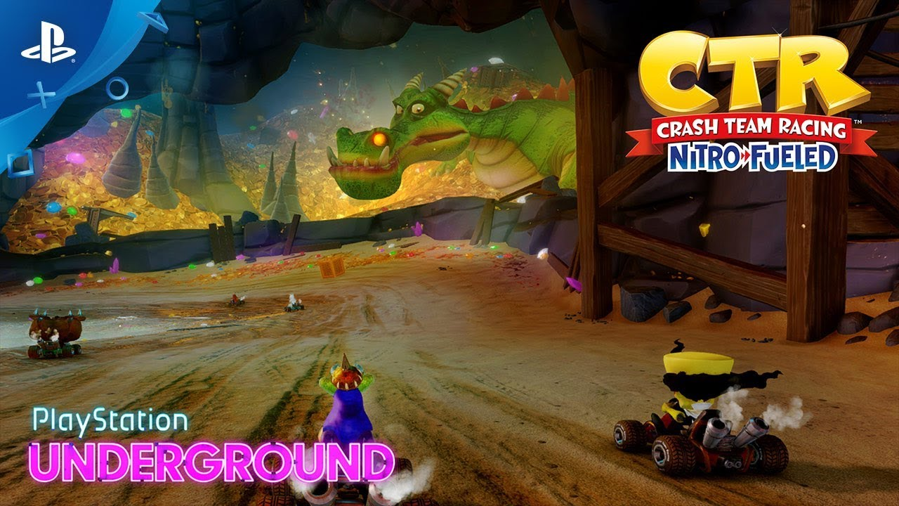 Crash Team Racing Nitro-Fueled PS4 Exclusive Track Revealed