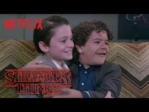 Stranger Things Cast Gets Scared HD  Netflix