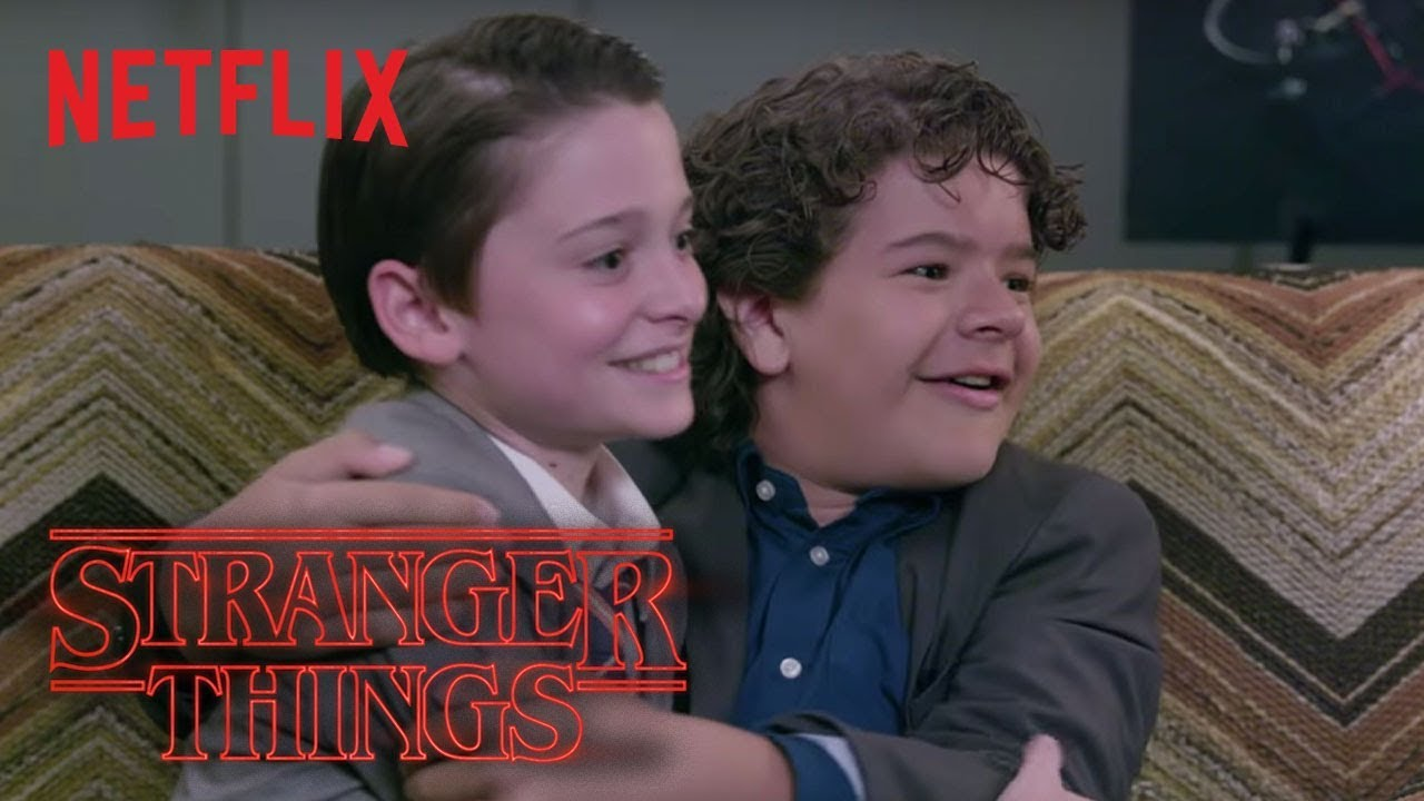 Stranger Things Cast Gets Scared! | Netflix