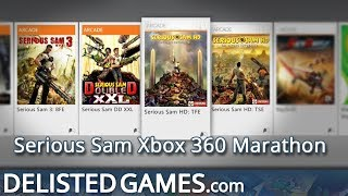 Serious Sam Xbox 360 Marathon (Delisted Games Hands On)