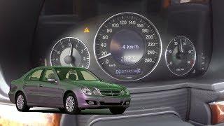 2005 Mercedes-Benz W211 E220cdi 0-100km/h