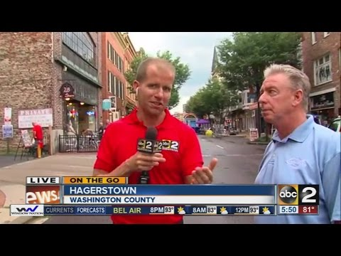On The Go: Visiting Hagerstown, Maryland