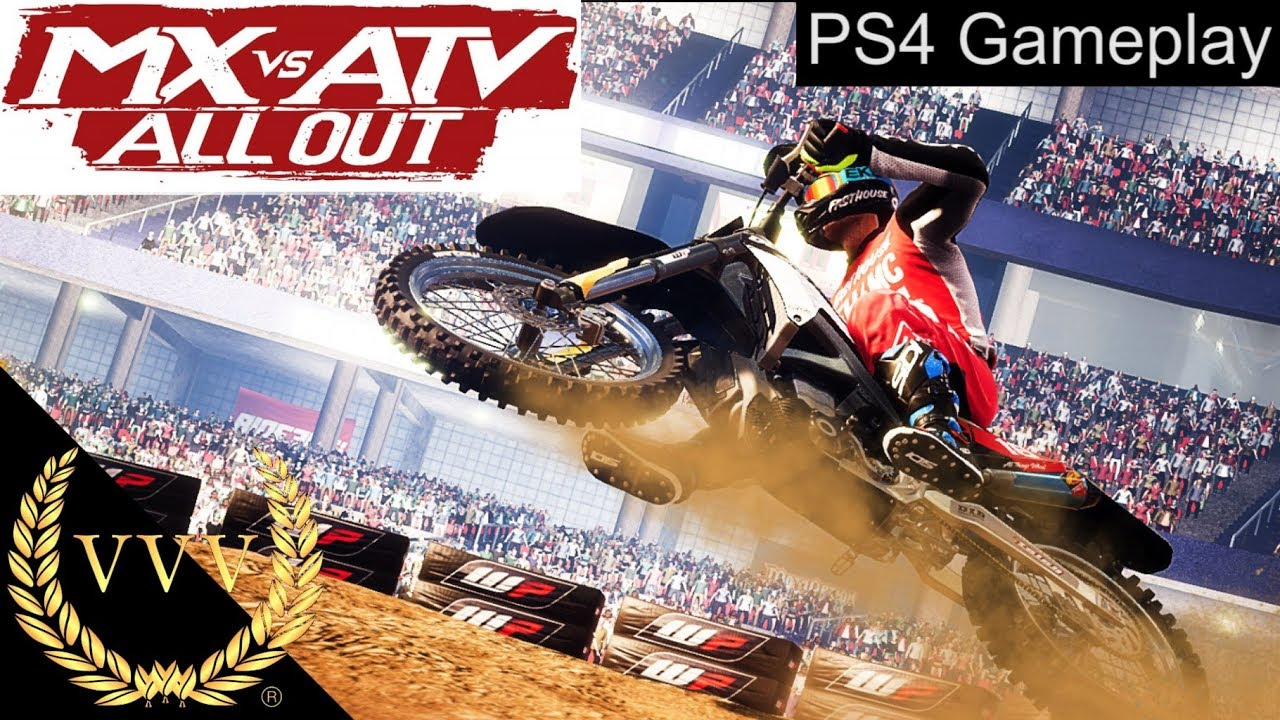 mx vs atv all out ps4 gameplay youtube. Black Bedroom Furniture Sets. Home Design Ideas