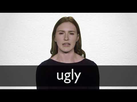 "Hindi Translation of ""ugly"" | Collins English-Hindi Dictionary"