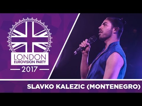 Slavko Kalezić - Space (Montenegro) | LIVE | 2017 London Eurovision Party