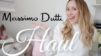MASSIMO DUTTI HAUL AND TRY ON // Sophisticated pieces that will add so much to my 2020 wardrobe!