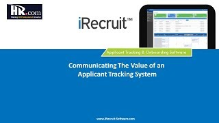 Value of an applicant tracking system ...