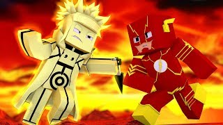 Minecraft: HERÓIS DA SORTE - FLASH VS MINATO KYUUBI !!! ‹ Ine ›