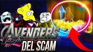 SCAMEO a los VENGADORES del SCAM se PONEN MUY AGRESIVOS y les TROLLEO -Fortnite Scame get Scam