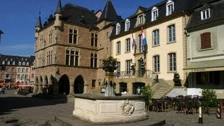 Luxembourg tourism video: Echternach & Mullerthal Region - Little Switzerland of Grand-Duchy
