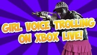 Call Of Duty Girl Voice Trolling!