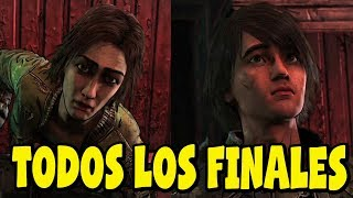 The Walking Dead Temporada Final - Temporada 4 Episodio 3 - Todos los Finales - Español Latino