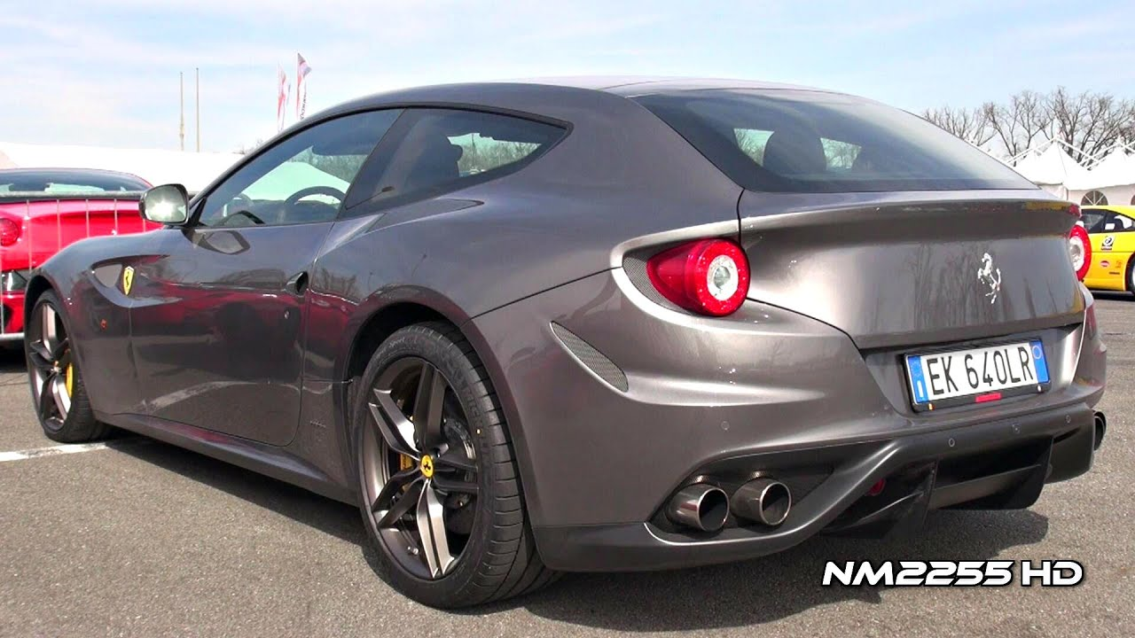 Ferrari Ff Start Up And Loud Revs Youtube