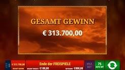 RECORD WIN!! 300.000€ JACKPOT / ONLINE CASINO / ROMAN LEGION