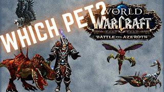 WoW Hunter Pet Guide - PvP