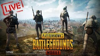 🔴LIVE STREAM - Mobile PUBG | Custom Room | Rank Push to CONQUEROR xD