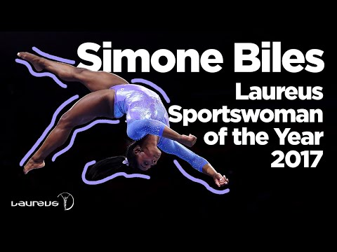 Sportswoman of the Year 2017- Simone Biles
