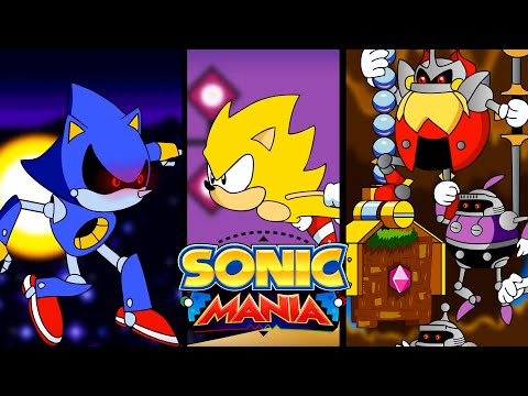 Sonic Mania the Animation