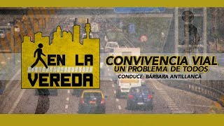 """EN LA VEREDA : """"CONVIVENCIA VIAL: UN PROBLEMA DE TODOS"""""""