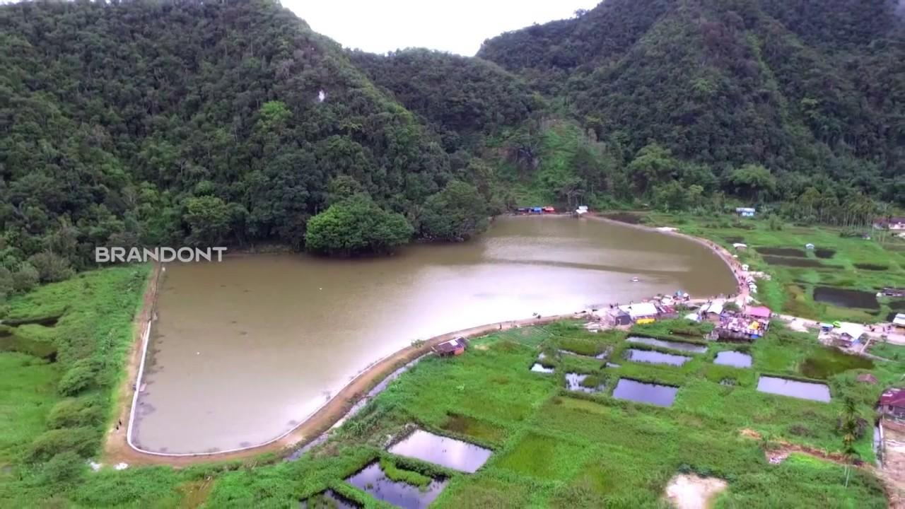 Kolam Ikan Objek Wisata Embung Tirta Sari Tilatang Kamng Agam
