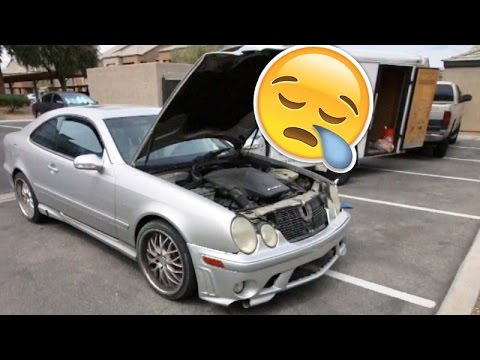 The CLK55 Project - Rough idle diagnosis Ep 2