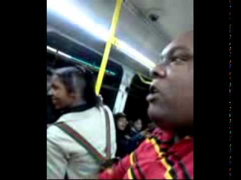 Rap Battle on Bus 52 in Baltimore
