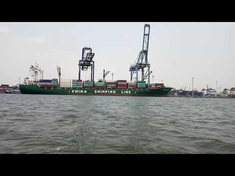 Kapal CSCL Manzanillo Container Ship