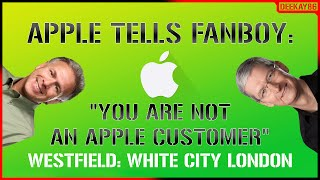 "Gambar cover APPLE TELLS FANBOY: ""YOU ARE NOT A CUSTOMER!"" 