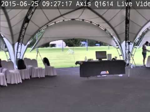 Axis Q1614 Live Video