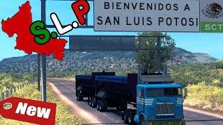 Nueva expansion: SAN LUIS POTOSI, primer viaje | Freightliner FLB | American Truck Simulator