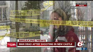 Man killed in shooting in New Castle, Indiana