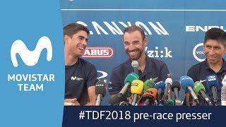 #TDF2018: Quintana, Valverde, Landa and Unzué's press conference