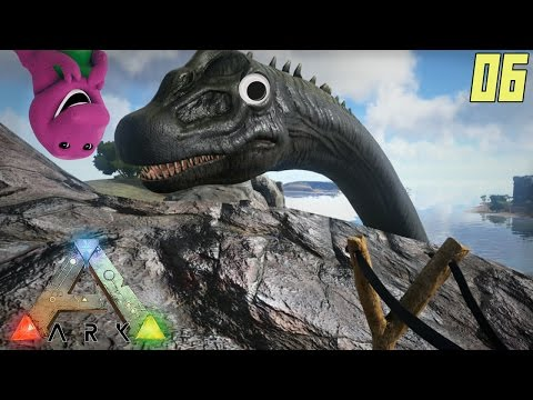 "ARK Survival Evolved Gameplay Ep 06 - ""PICK ON SOMEONE YOUR OWN SIZE!!!"" (PC Alpha Let's Play)"