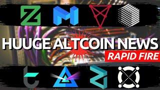 HUUGE CRYPTO NEWS | Zcoin, Matic Network, Ren Protocol, Chiliz, Zilliqa, Elrond, Tomochain, Beam