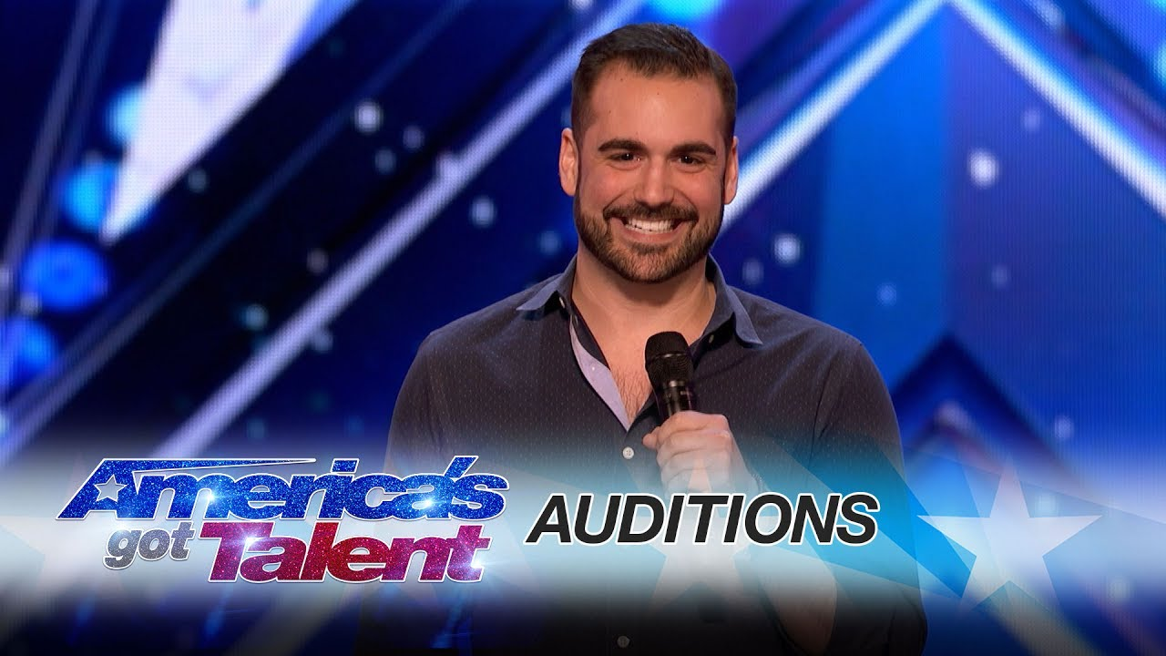 Americas got talent 2017 4 - Harrison Greenbaum Comedian Comes Out As A Comic To His Parents America S Got Talent 2017